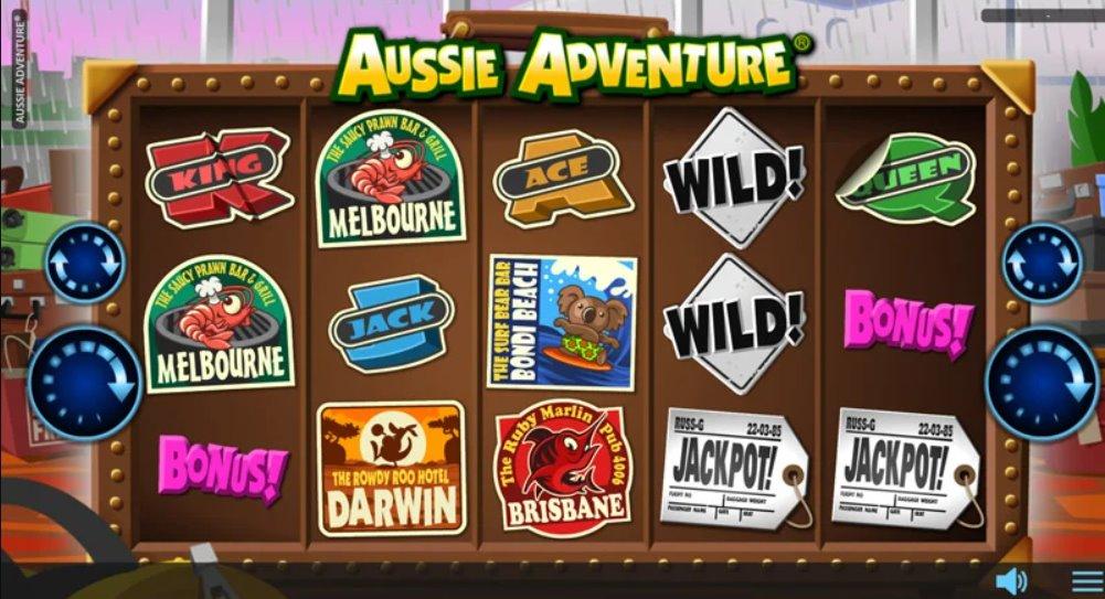 Aussie adventure pokie machine